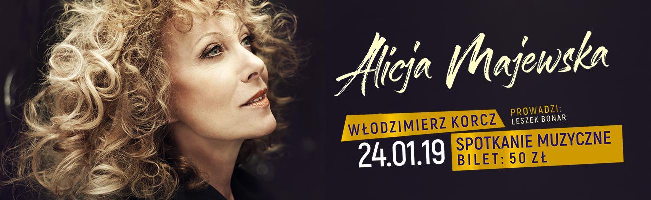 Alicja Majewska i Włodzimierz Korcz – spotkanie muzyczne