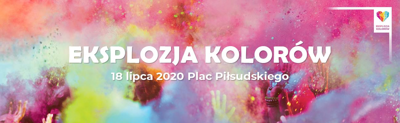 Eksplozja Kolorów w Kutnie 2020